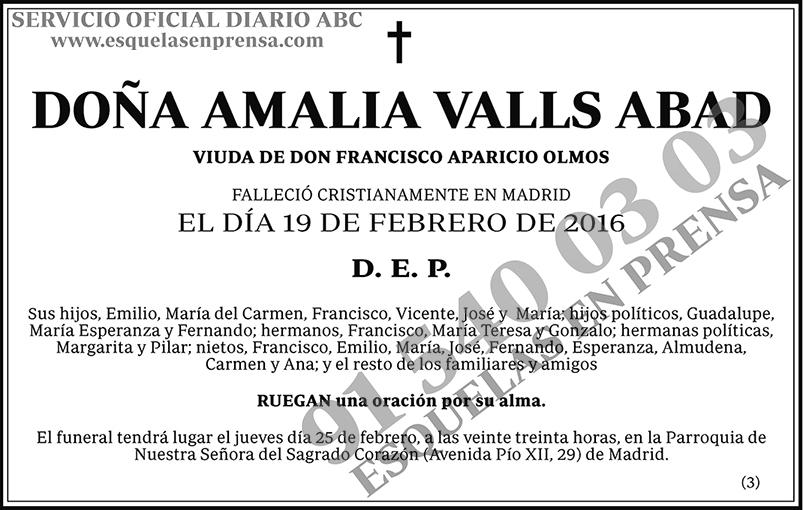 Amalia Valls Abad
